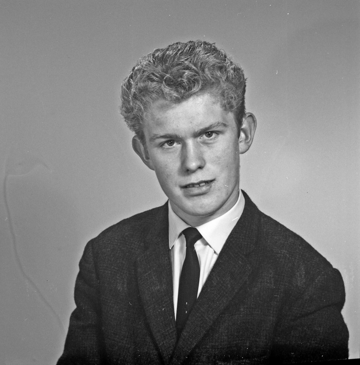 Portrett ung mann - bestiller Einar Apeland