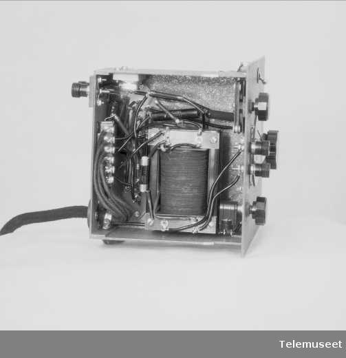 Nødmottaker type 2-SM-2 1935-35,   Elektrisk Bureau.