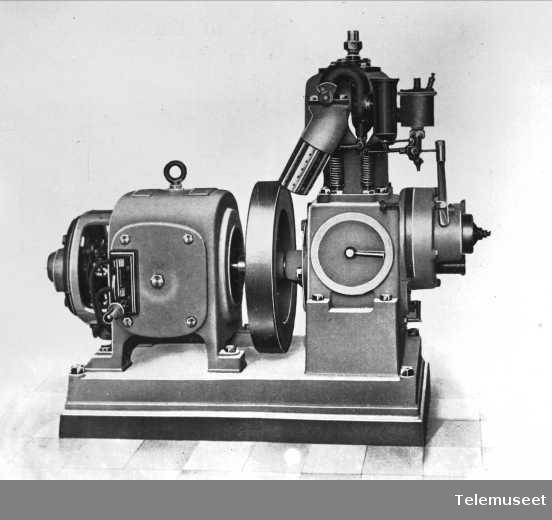 Gasmaskineri Alexandria. Elektrisk Bureau.