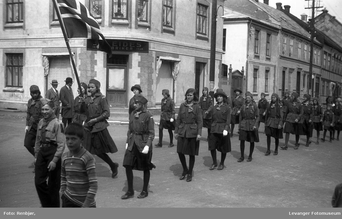 Speidere i Kriggata.