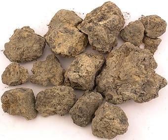 Bränd lera