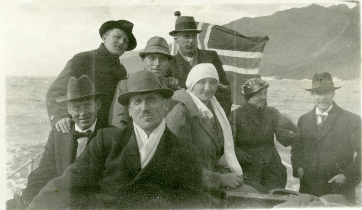 Olaus Islandsmoen. Frå Framnesferda, 1920.