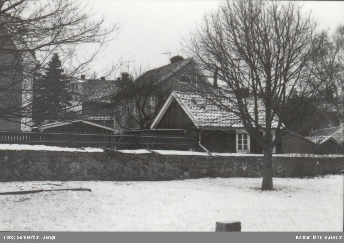 Bild från  gamla staden i Kalmar.
