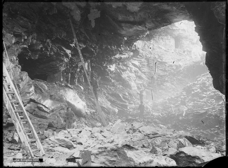 Dagskjæring Kongens gruve