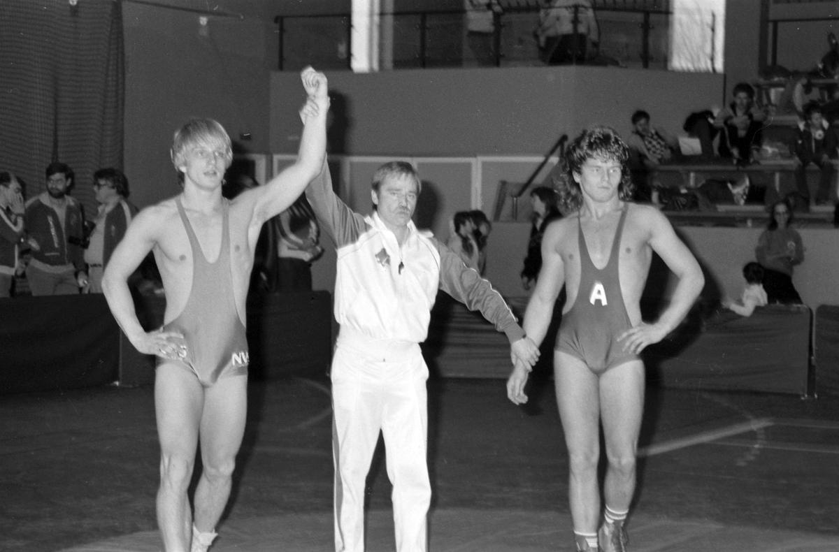 Brottning, Gävle Träffen. 1986