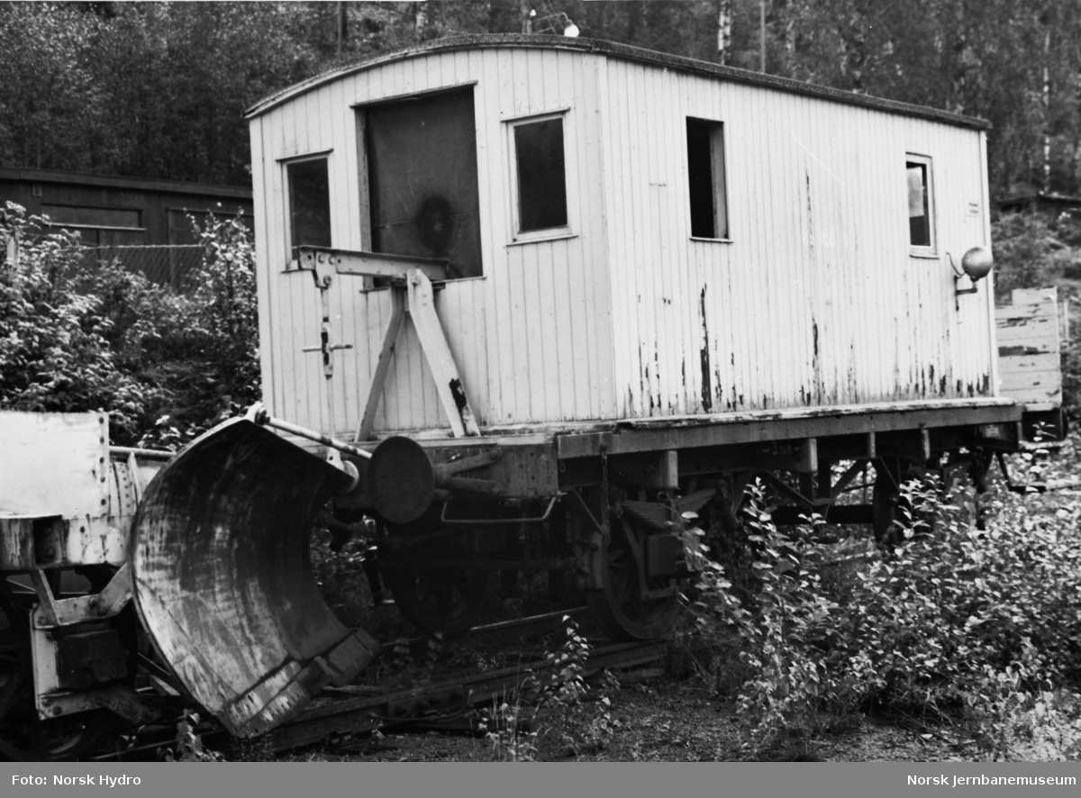 Sporrenser på Rjukanbanen, litra Rs nr. 831 (oppr. 168)