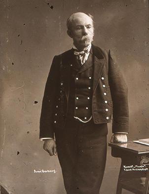 Arne Garborg i bunad. (Foto/Photo)