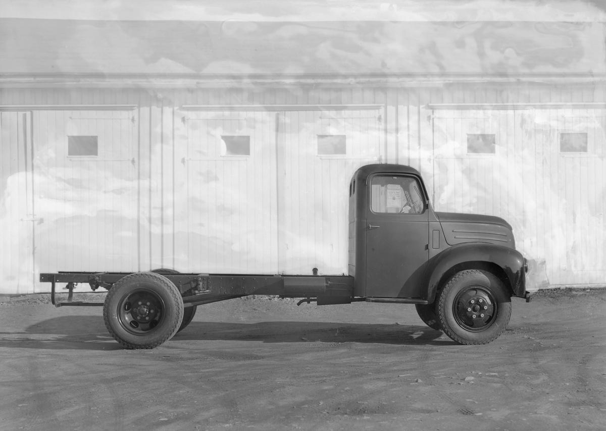 Lastebil på Vollabakken Auto