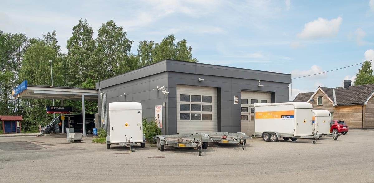 Statoil bensinstasjon Trondheimsvegen Jessheim Ullensaker