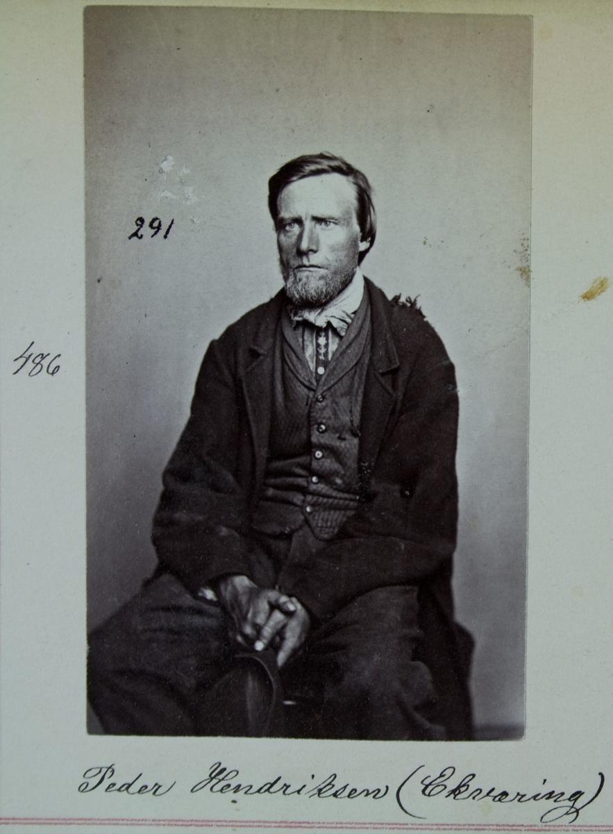 Fangeportrett, Peder Hendriksen