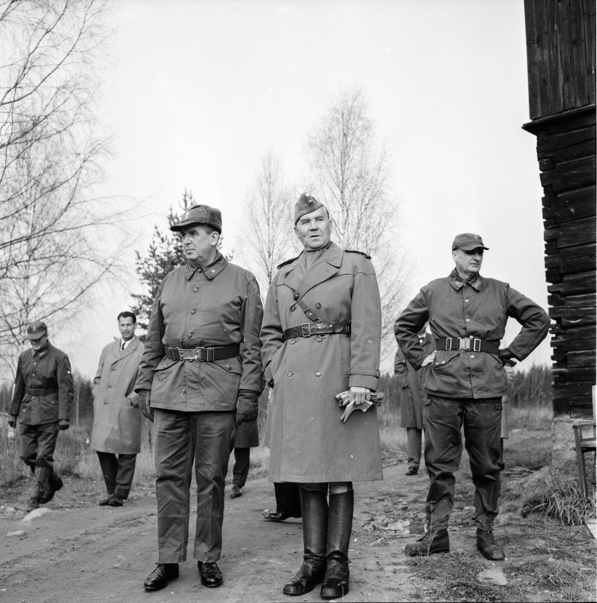 Driftvärnsövning, Bollegården, 24 Oktober 1963
