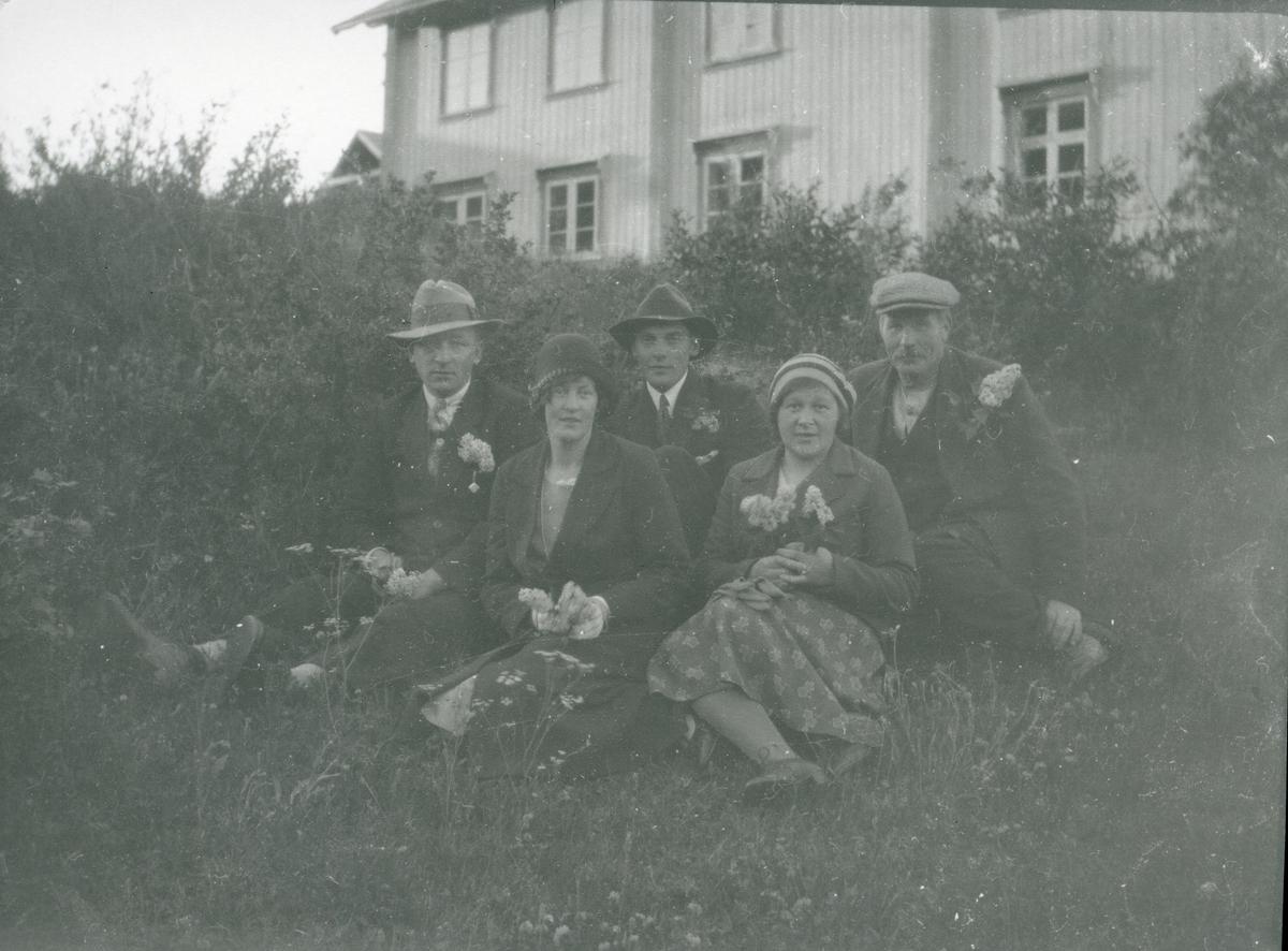 Fra øvre Sørflaten, Sør-Aurdal.