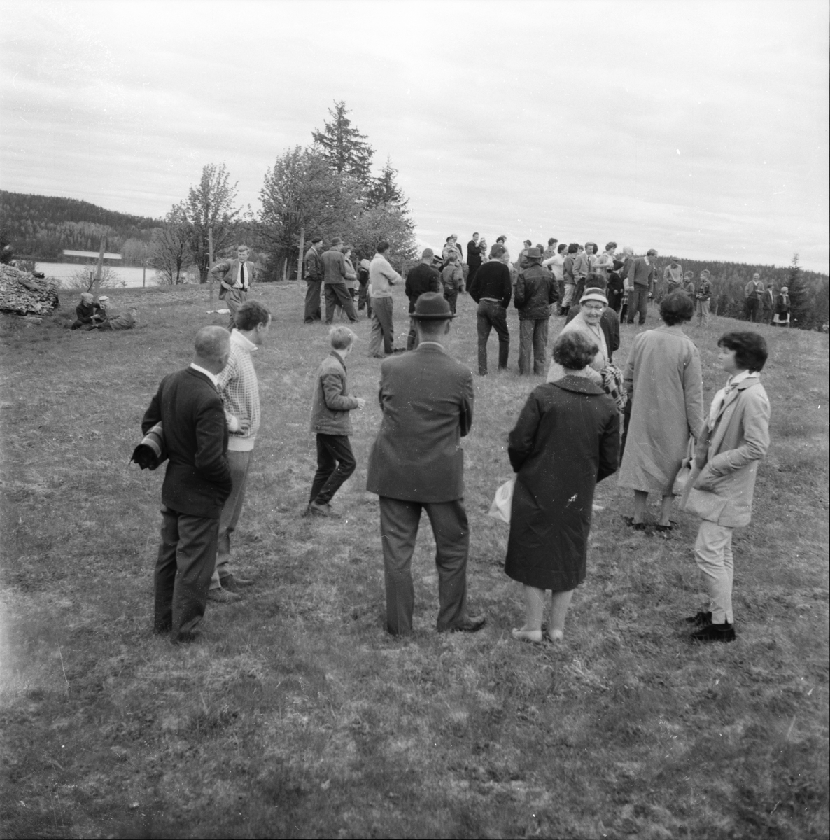 Öratjärnsvallen, Gökotta, 22 Maj 1961