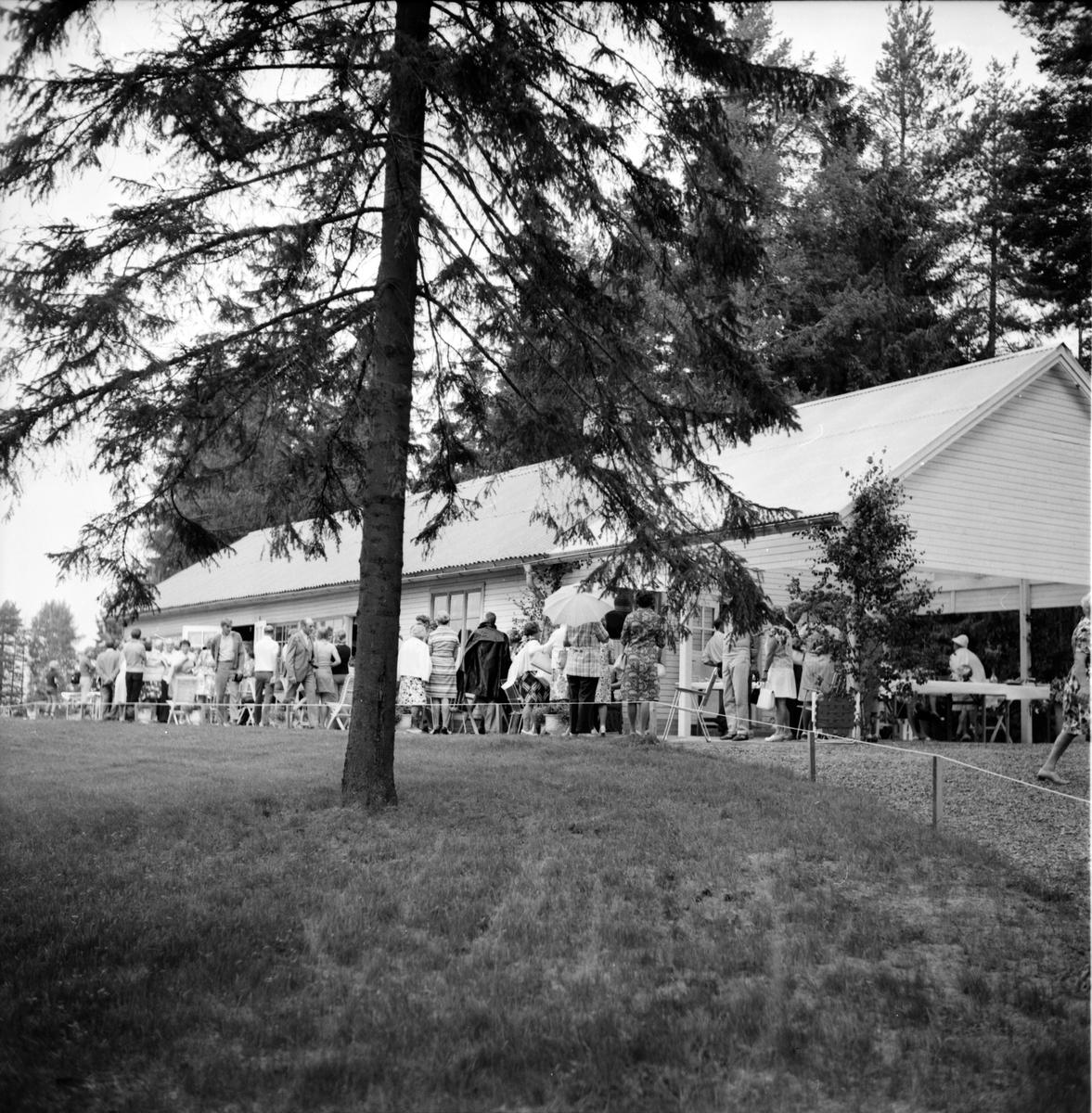 Fagernäs, Familjegudstjänst med Bäckmora, Juli 1973