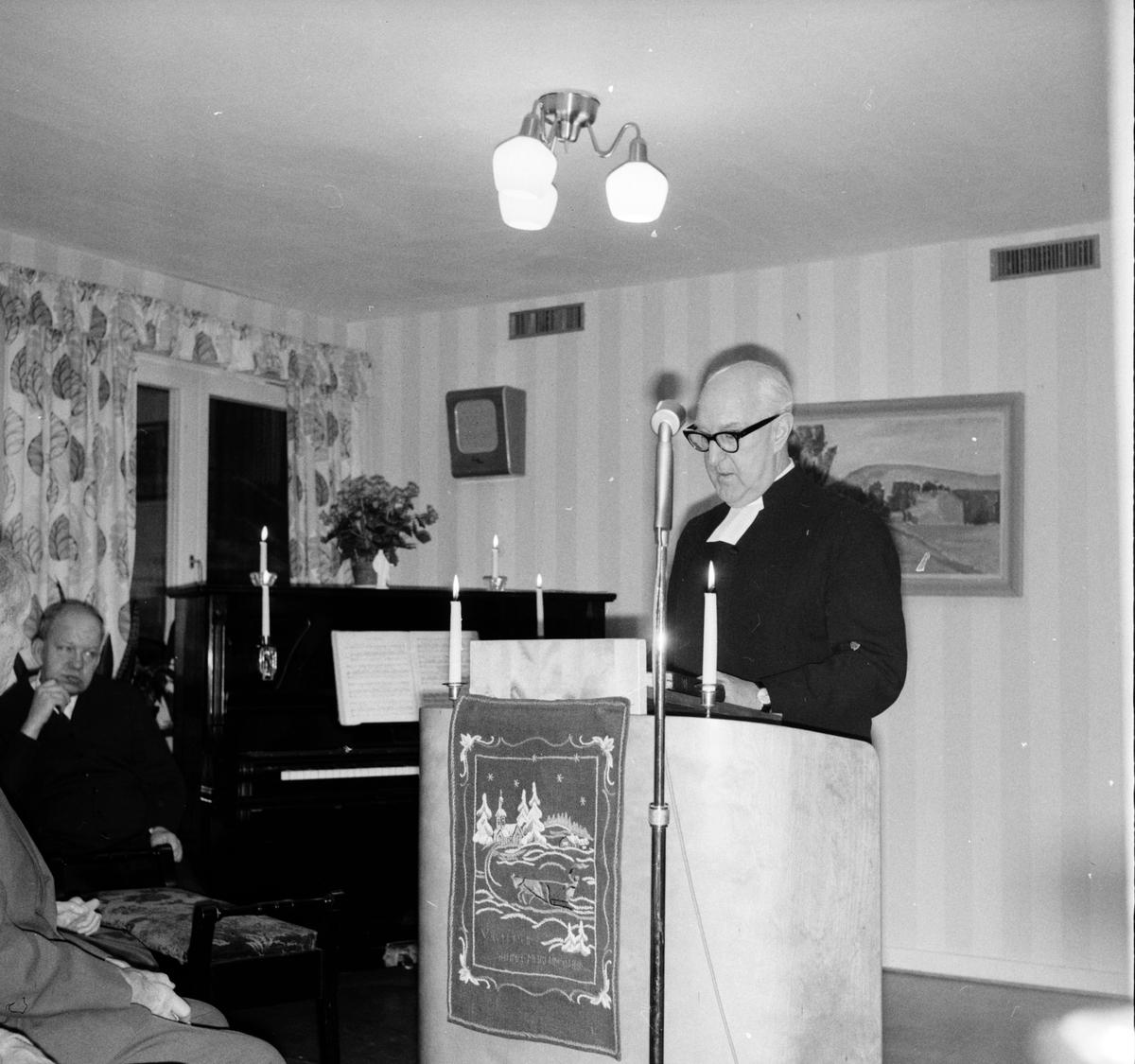 Arbrå, Julotta på Stenbacka, 1967