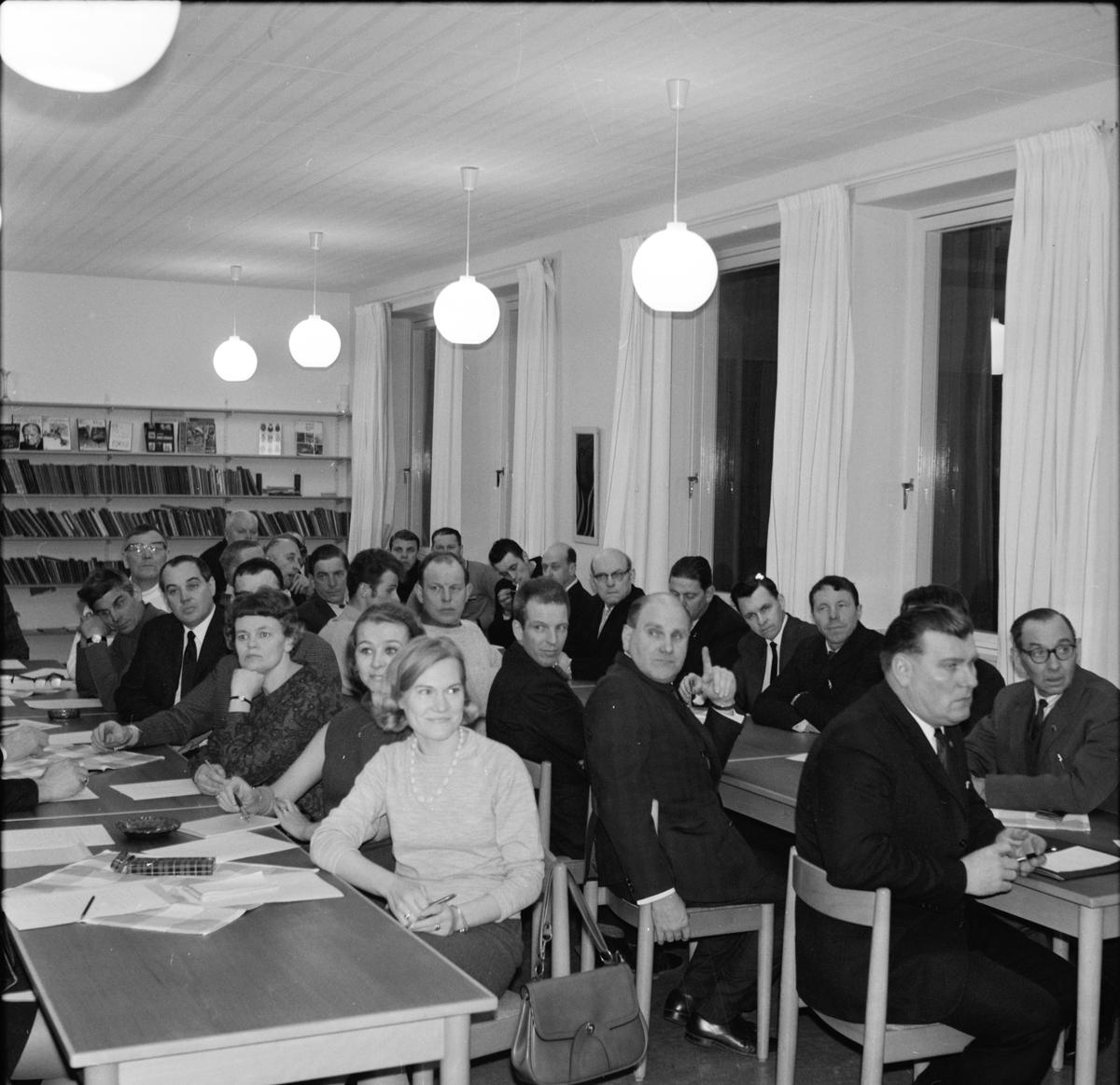 Arbrå, Disk. om skolungdomens fritid, 14 Februari 1968