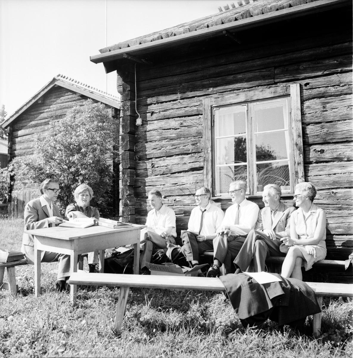 Galven, Besök vid spelmansgården, Juli 1969
