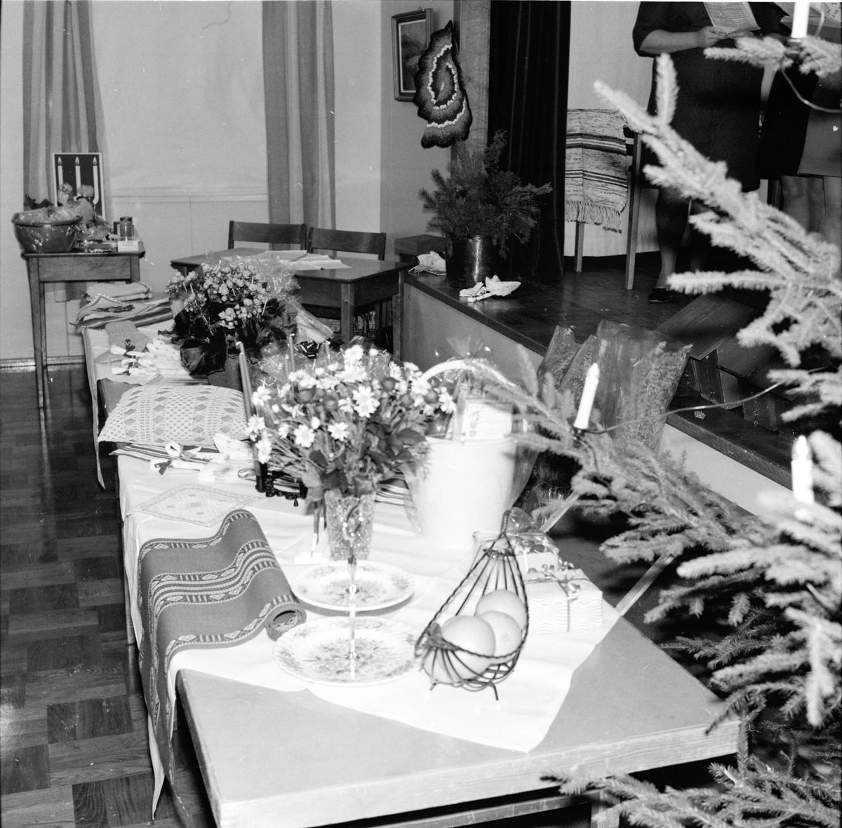 Flästa, Logens julfest, Kören sjunger, Dec 1969