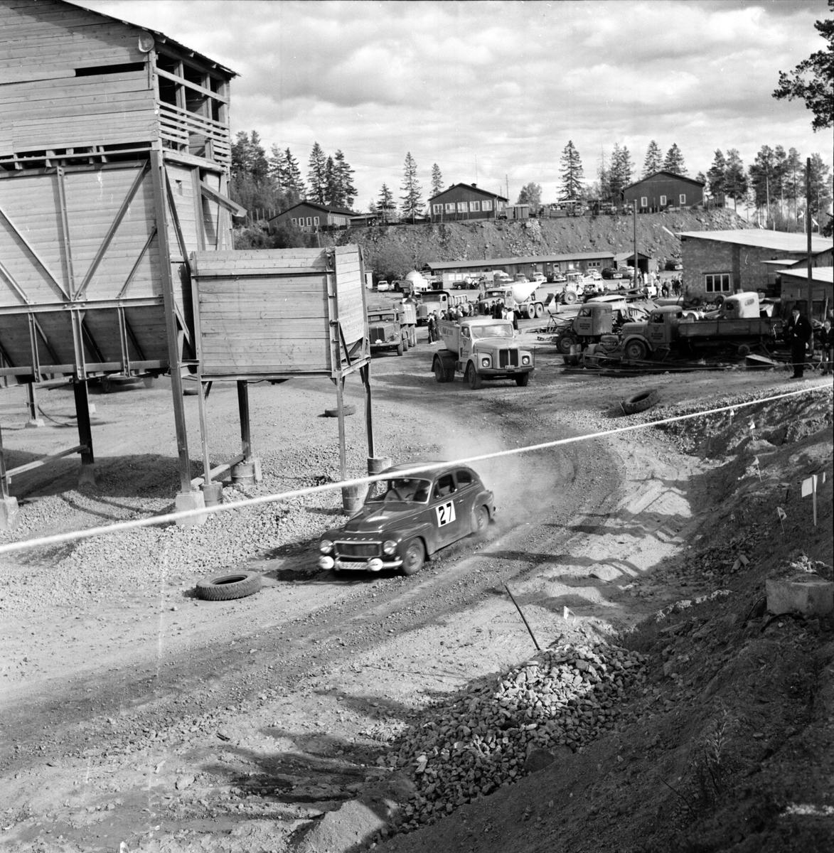 Midnattssolrallyt, Ren, 10 Juni 1964