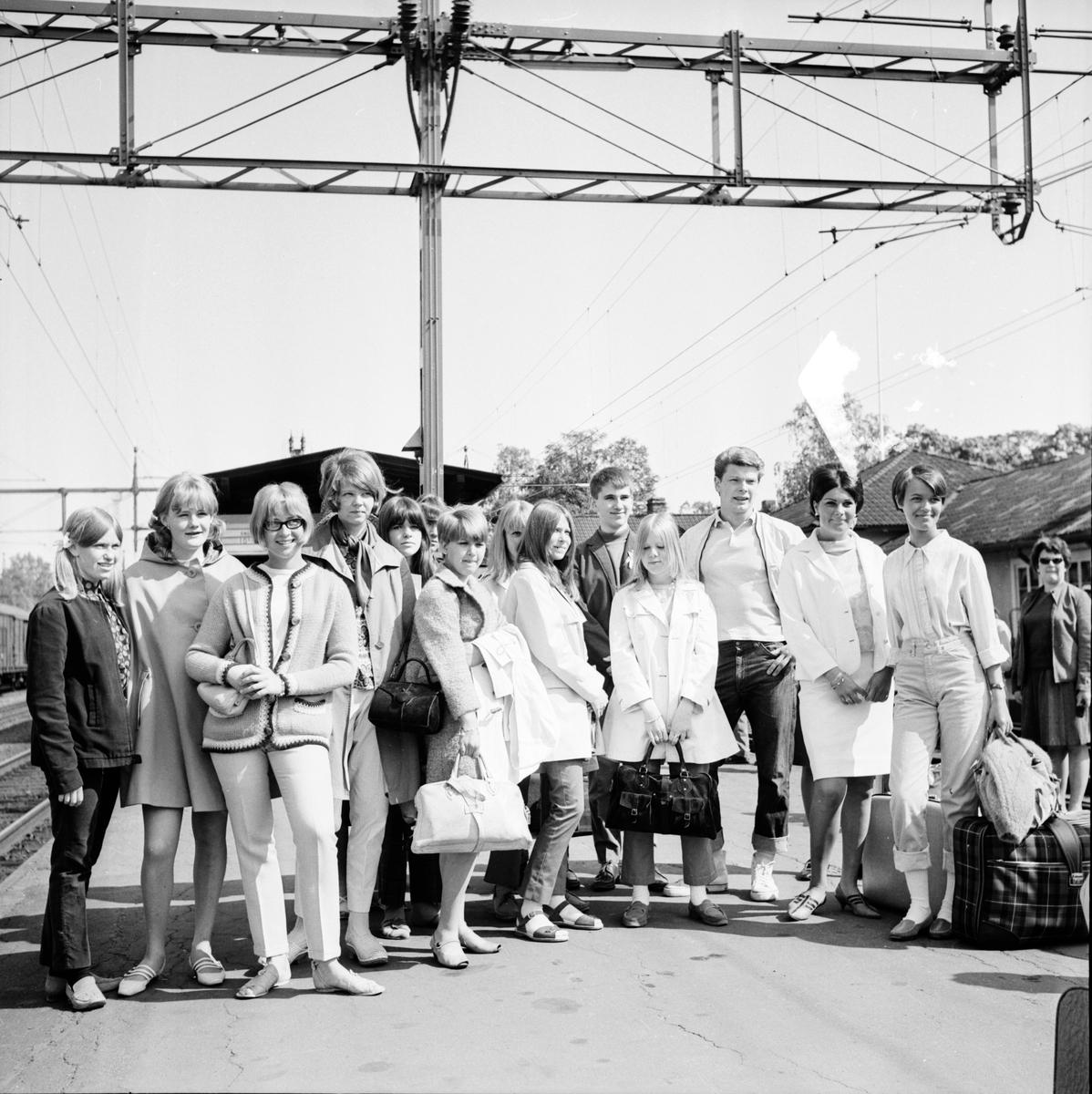 Till Misburg, skolresa. 14/6-1967