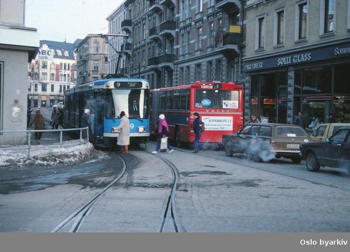 Oslo Sporveier trikk buss SL79