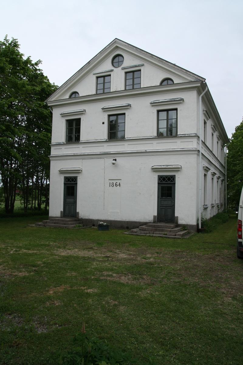 Snickarverkstaden/gamla skolan, Ullfors bruk 1:16, Tierps socken, Tierps kommun, Uppsala län 2013.