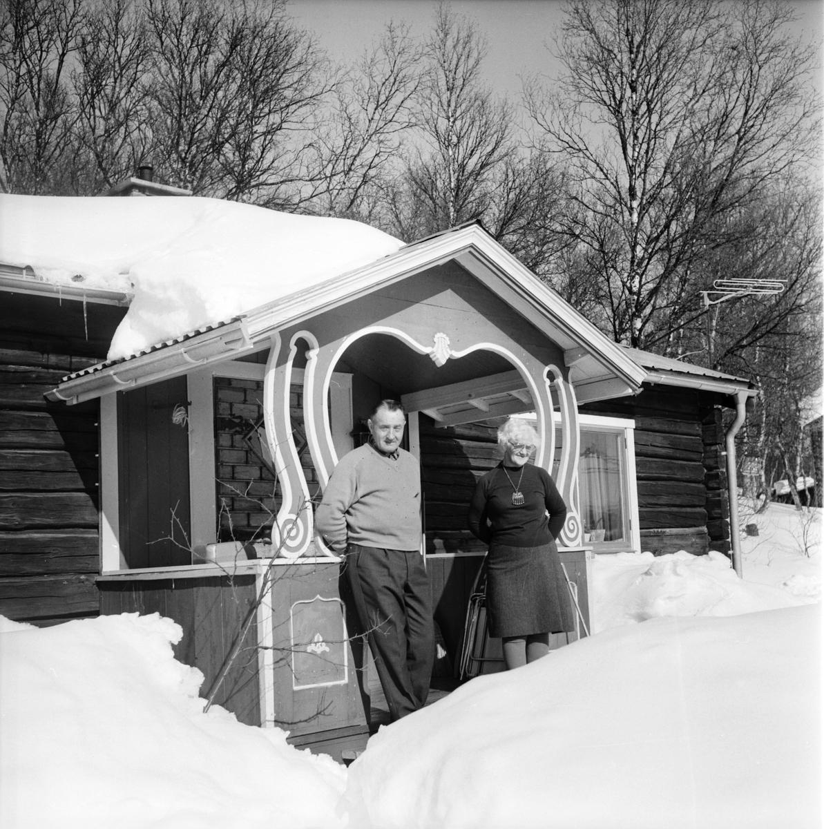 Tänndalen. Olov Guttormsen Januari-1970