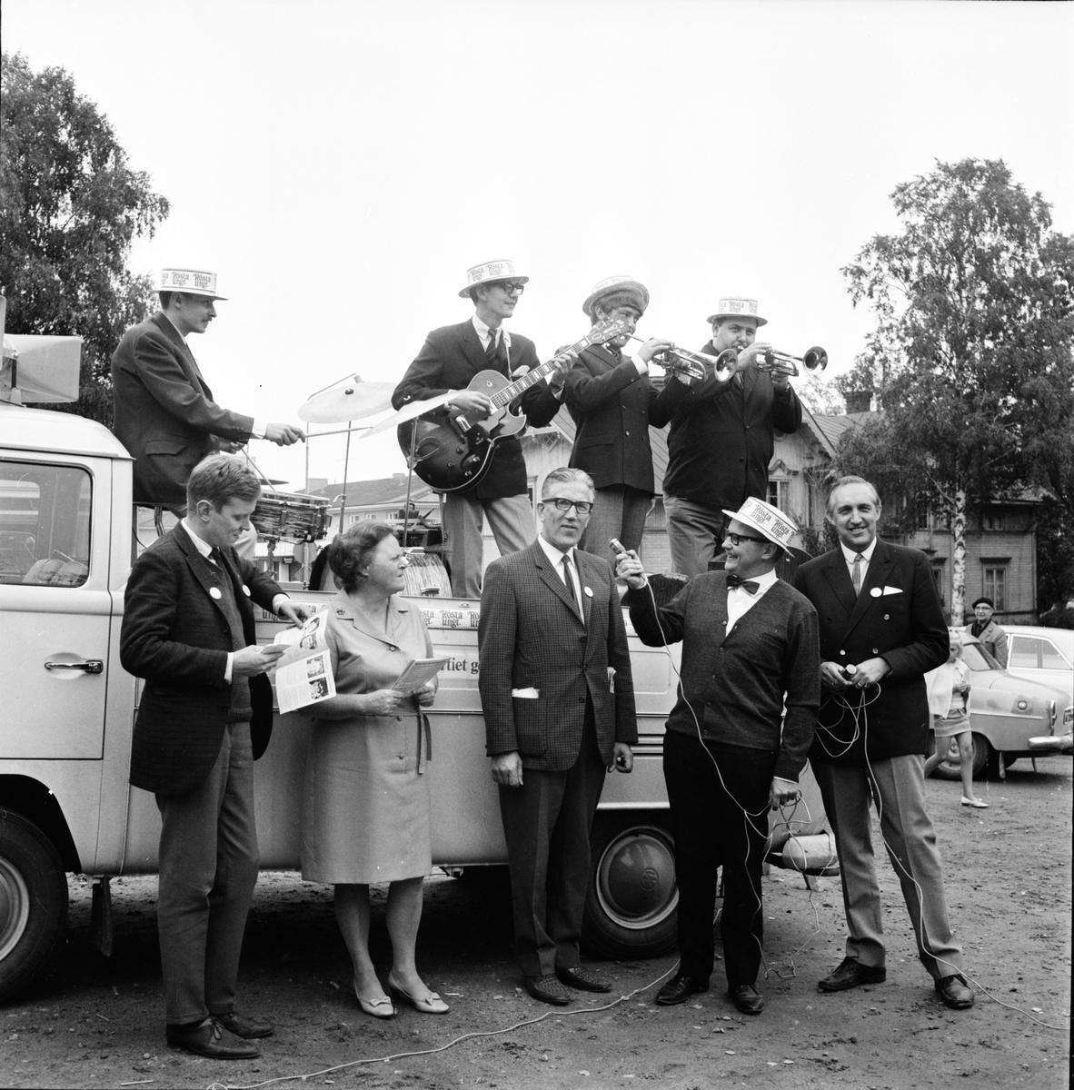 Arbrå. Valet 1968