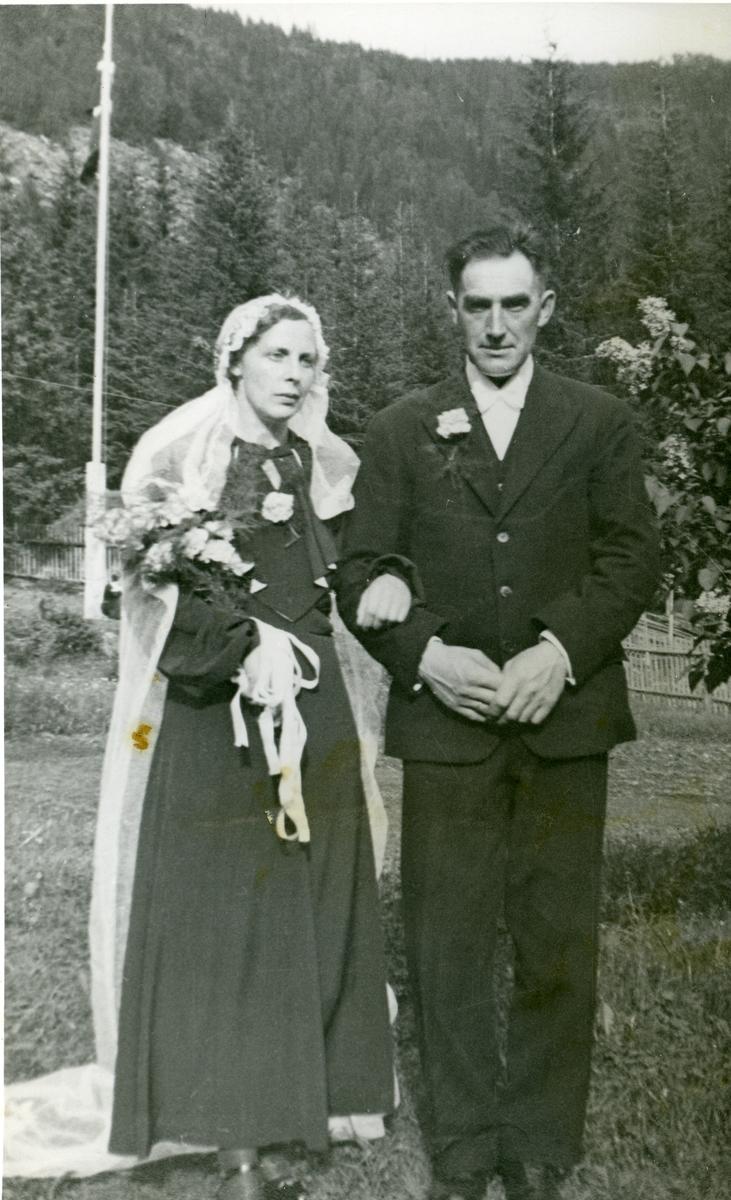 Ingebjørg og Kristian Brenden.