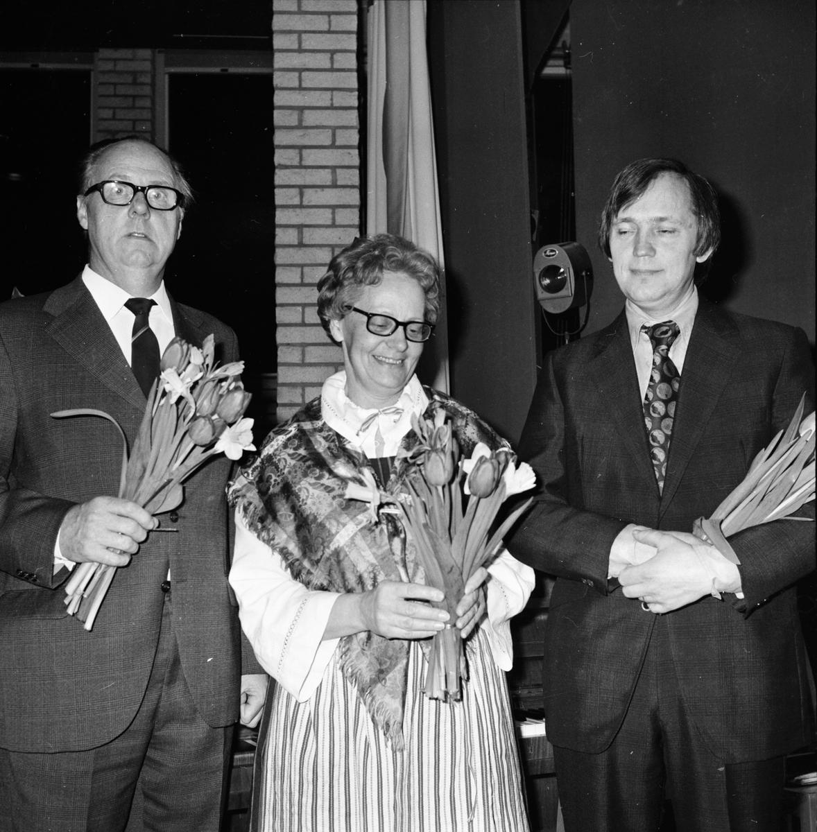 Forum Soare, Astrid Häger, Hägglund-Larsson, Mars 1972