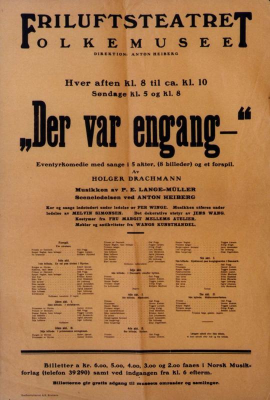 Teaterplakat NF.21347-0164 (Foto/Photo)