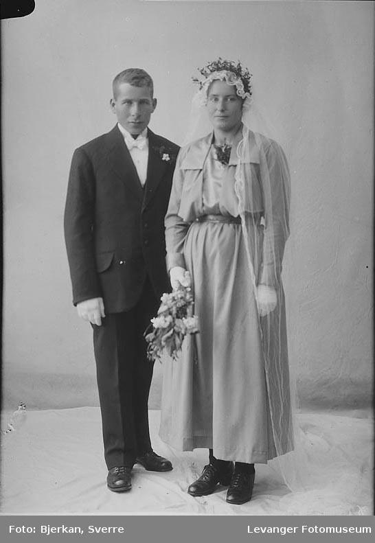 Portrett av et brudepar, Erik Karbu.