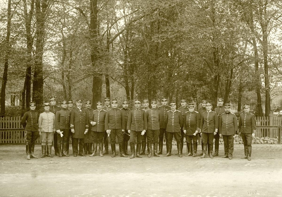 II:a arméfördelningens fältövningar 1907.