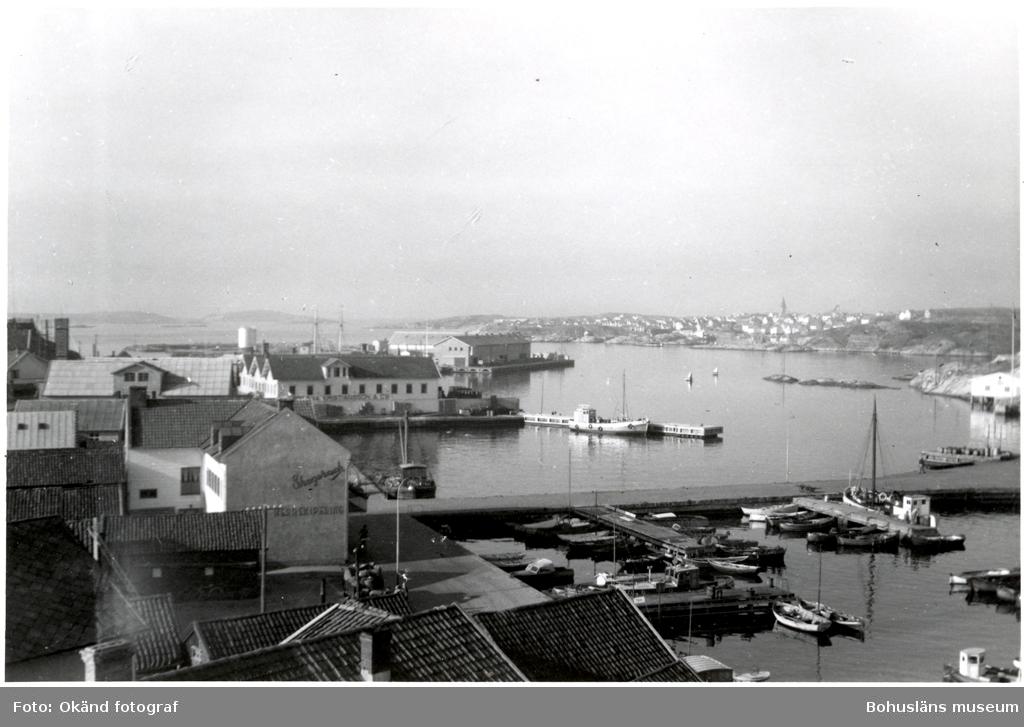 Utsikt från hotell Kungshamn