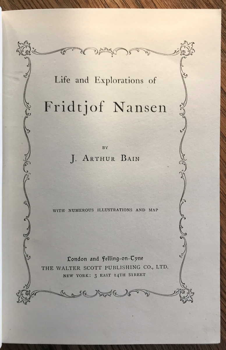 Portrett av Nansen