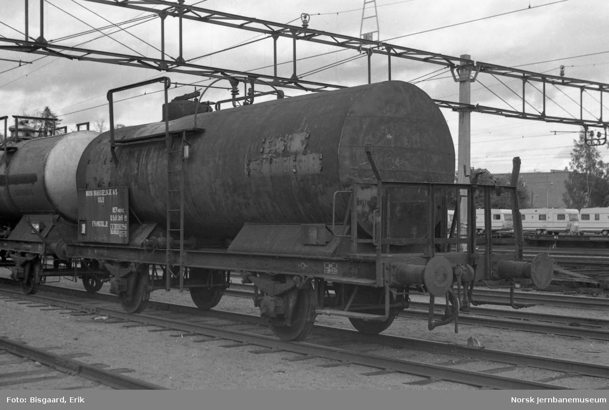 Tankvogn litra Q nr. 501099 for Norsk Brændselolje A/S