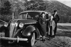 """Hudson Terraplane, """"billigmerket"""" til Hudson. Årsmodell 1937"""
