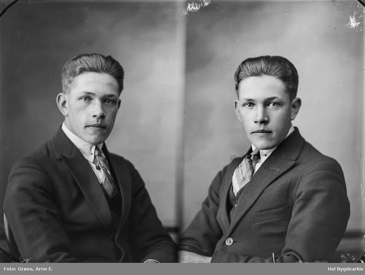PortrettB, mann, dress, slipsnål