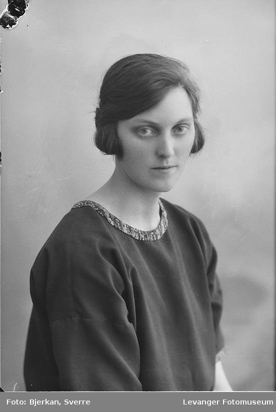 Portrett av Klara Næss