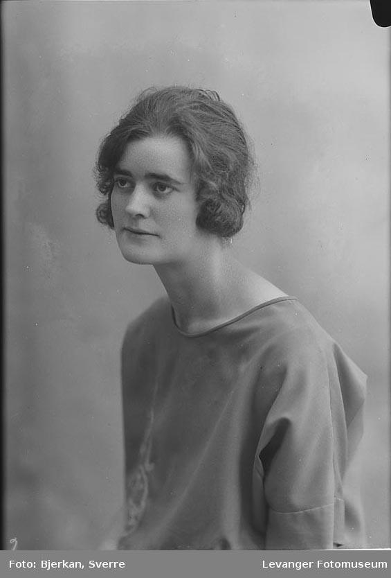 Portrett av Sigrid Lånkan