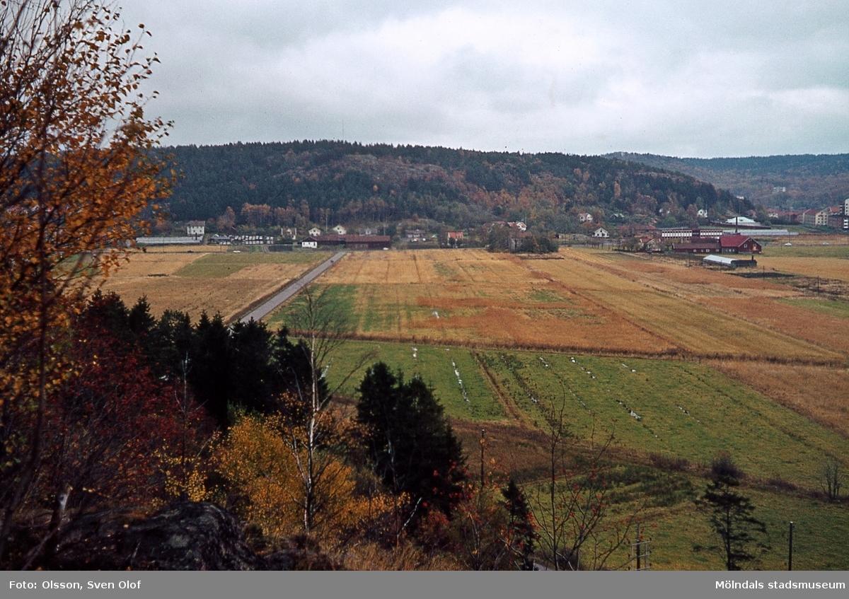 Del av Toltorps by i Mölndal, år 1965. T 1:21.