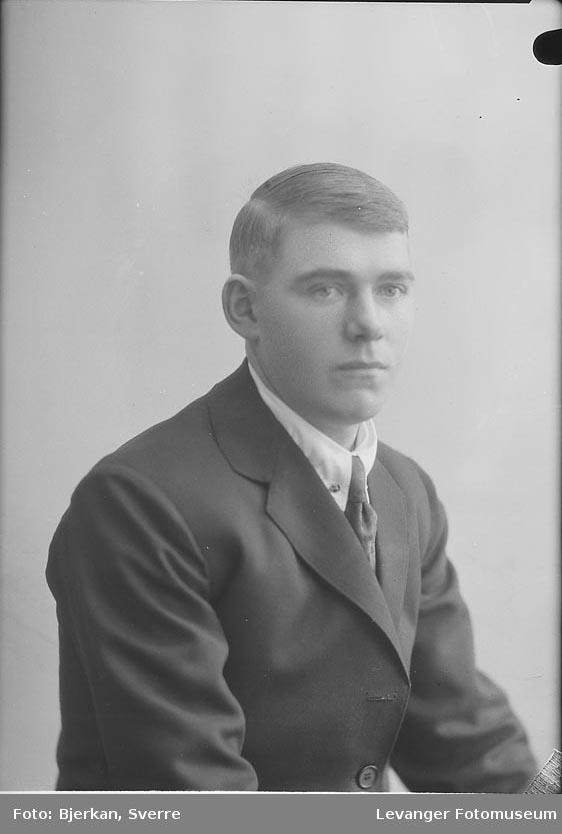 Portrett av Alfred Strøm
