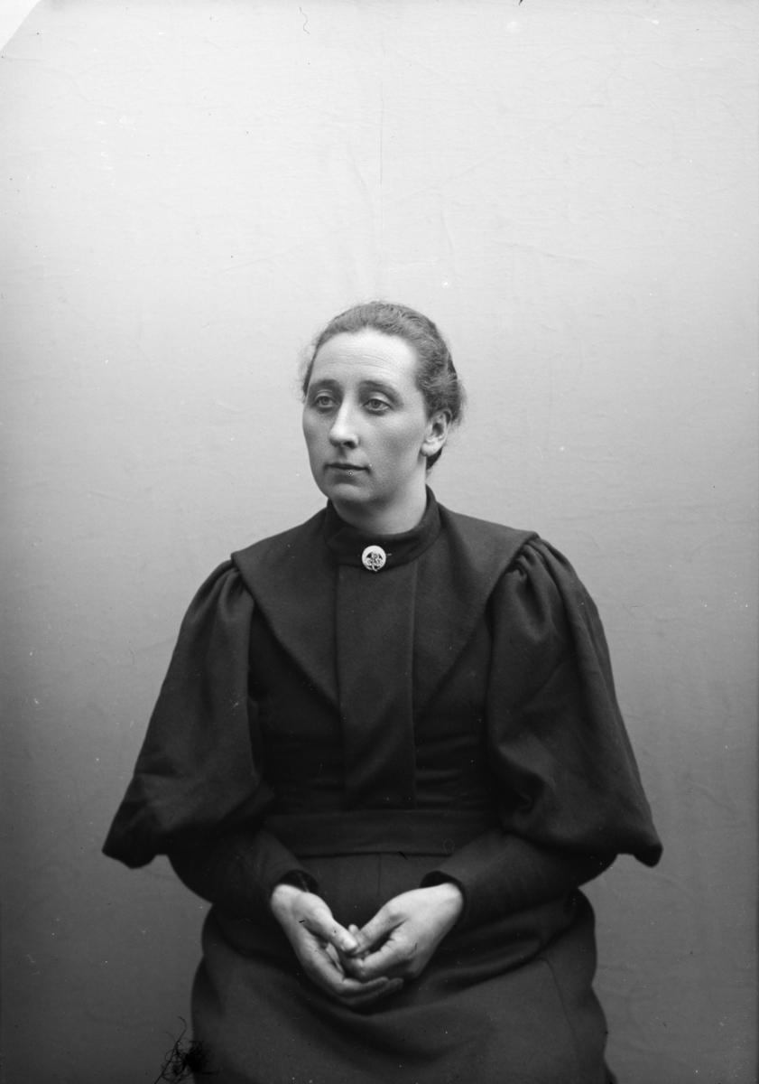 Portrett av Hanna Brende, Kvam