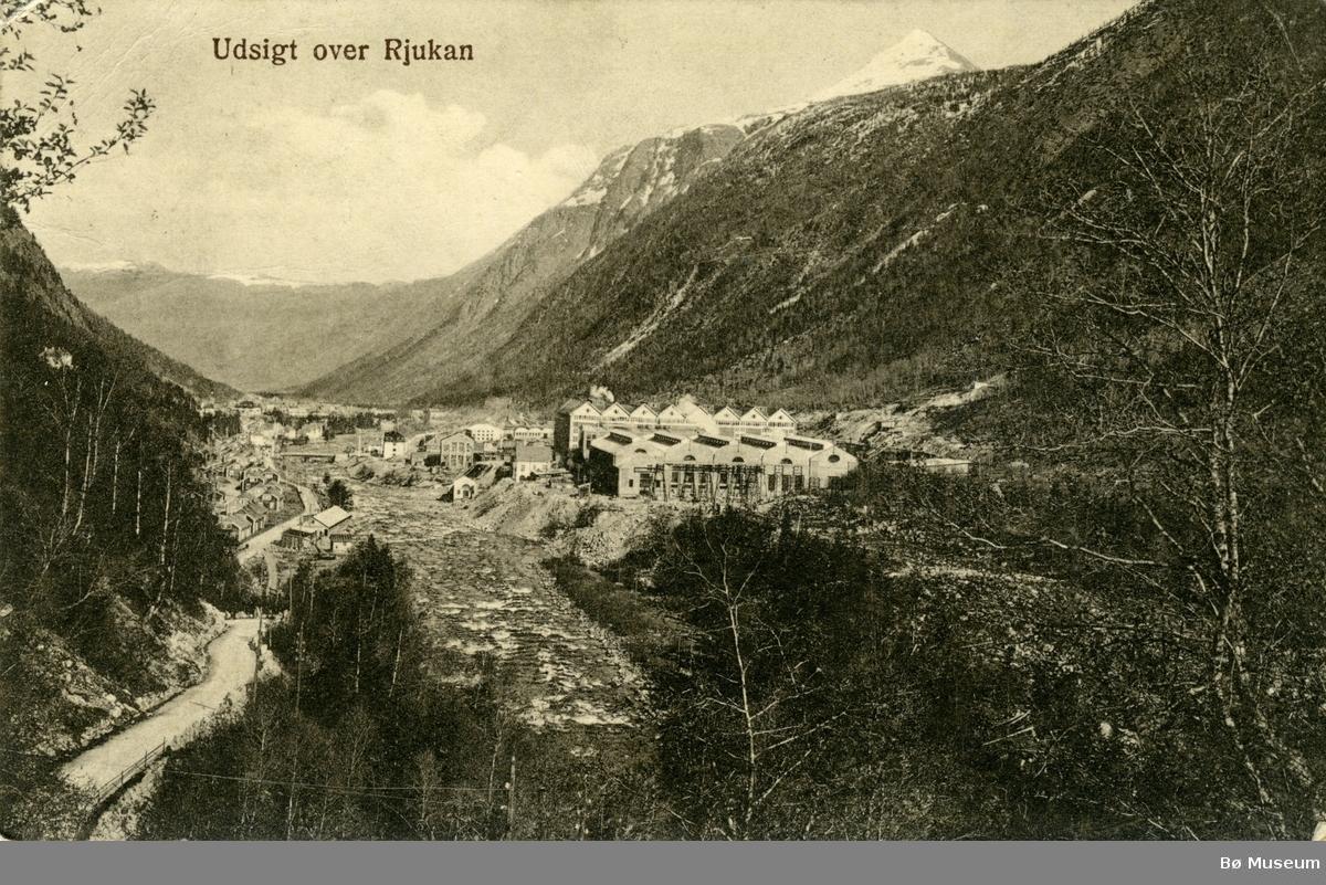 Udsigt over Rjukan