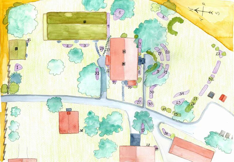 Kart Gamle Hvams hage