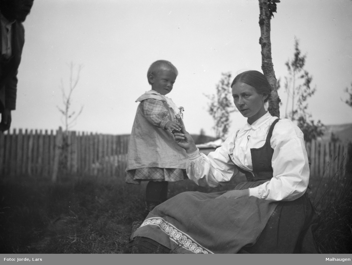 Kvinne med barn