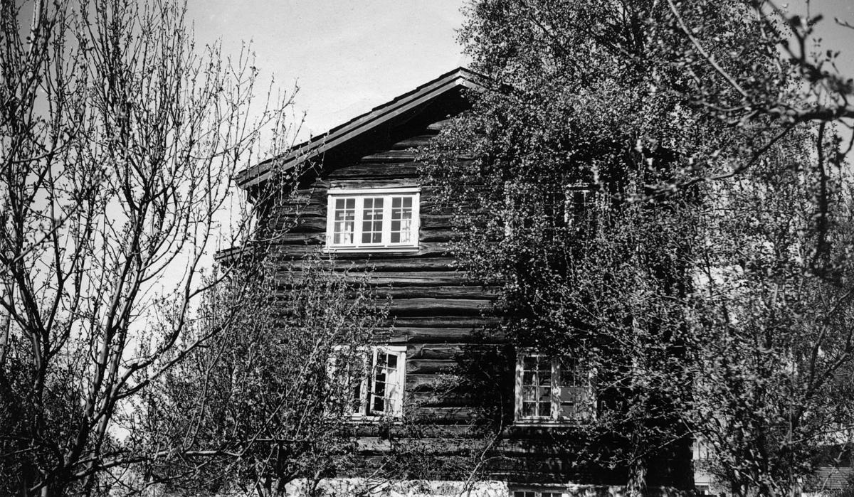 Lars og Christiane Jordes hjem Jorderik i Erik Bues veg 17, Lillehammer