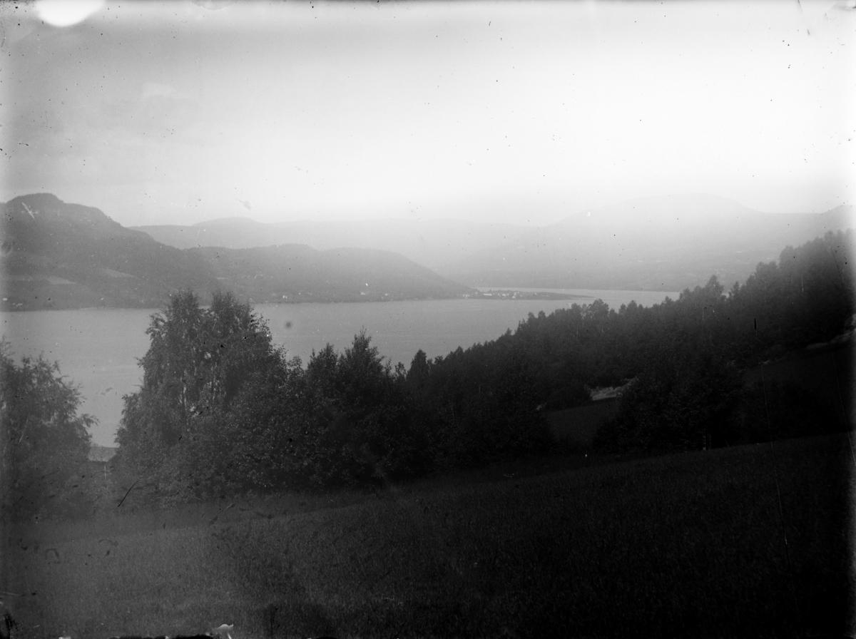 Utsikt fra Skoug mot Vingnes