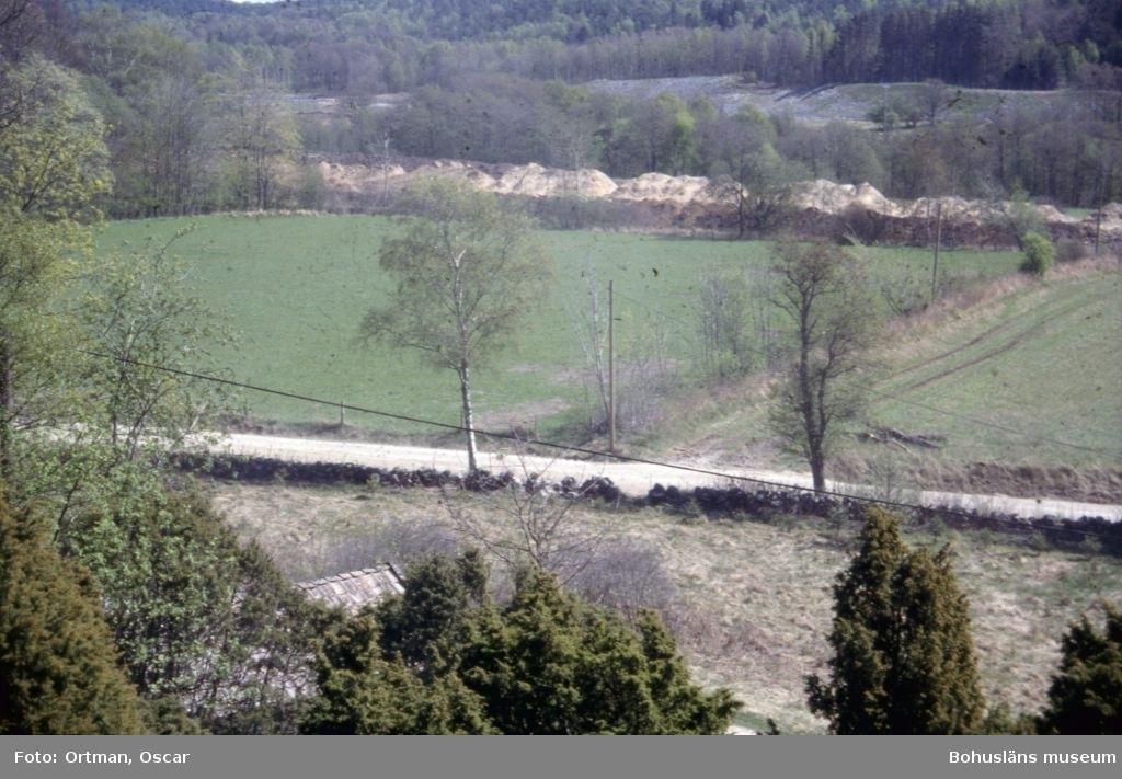 Norum 159 Norra delen av område A  lnnan avbaningen påbörjats Fotograferat från väster