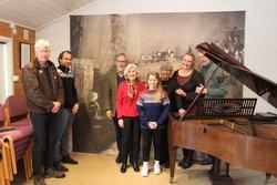 Fra venstre: Trond Hellstrøm, Magnus Sempler Holtet, Magne Rugsveen, Ragnhild Nyhus, Hanne Seem Murbræck, Helene Nilsen, Annika Grundt, Knut Bakke